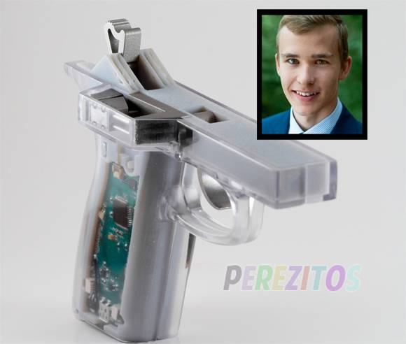 Teen's Invention Could Stop Kids From Accidental Gun Deaths! See His $50,000 Grant Winning Design HERE!