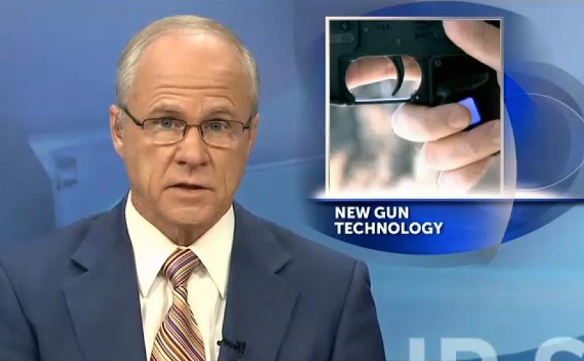 Columbus company unveils fingerprint activated firearm