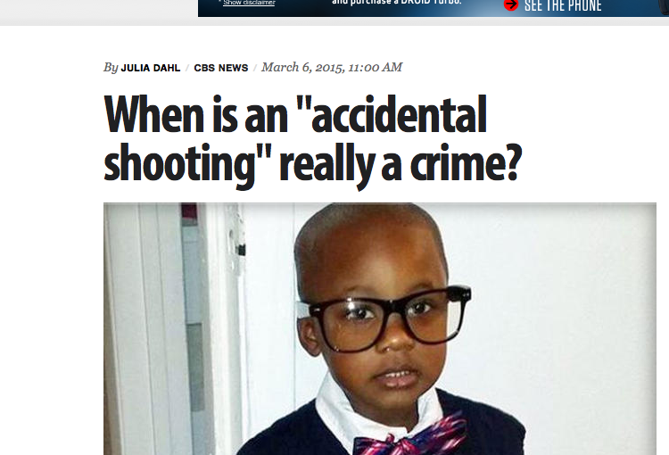 "When is an ""accidental shooting"" really a crime?"