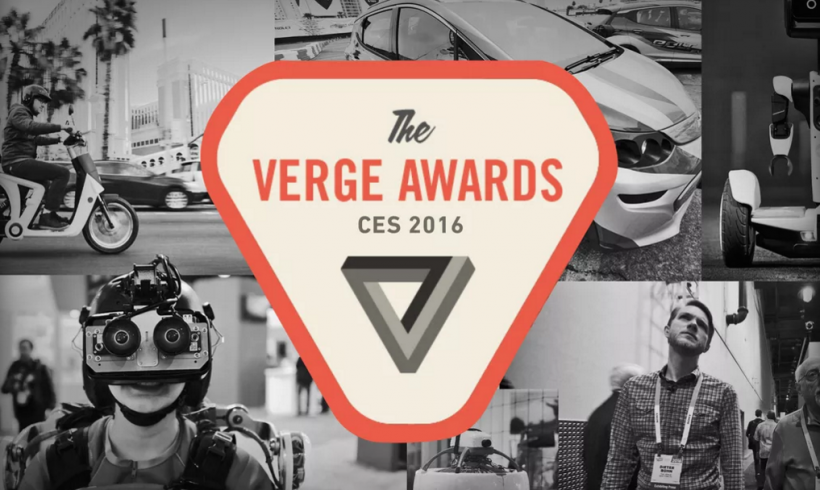 The Verge Awards at CES 2016: driving toward the future